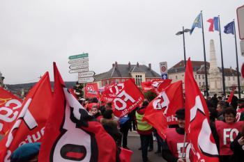 Rassemblement du 09 mars 2016 à Vesoul